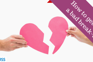 How to get over a bad break-up