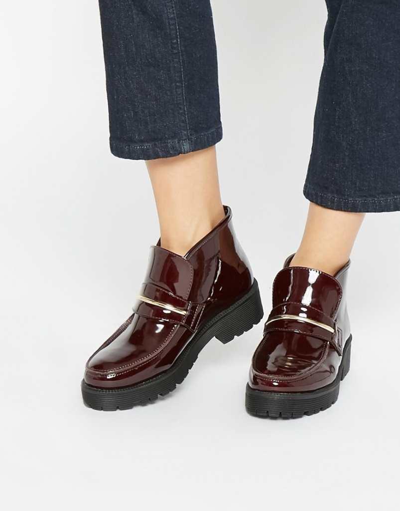 ASOS ACID Loafer Ankle Boots