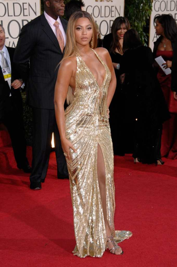 Beyonce Knowles 64th Golden Globes