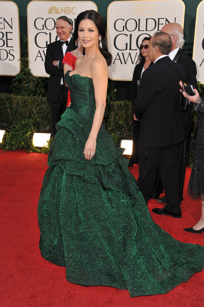 Catherine Zeta Jones 68th Golden Globes