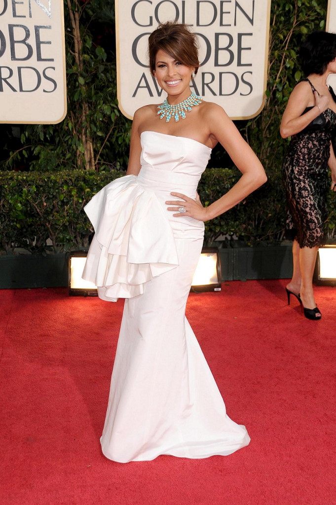 Eva Mendes 66th Golden Globes