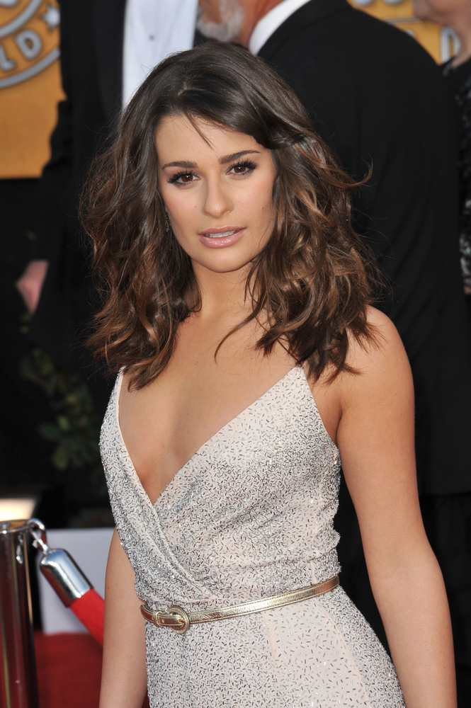 Lea Michele SAG Awards 2011