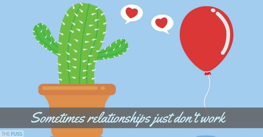 Sometimes relationships just don't work, no matter how hard you work at it TheFuss.co.uk
