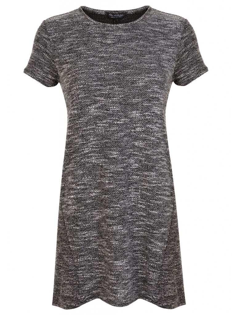 miss selfridge Boucle T-shirt Tunic