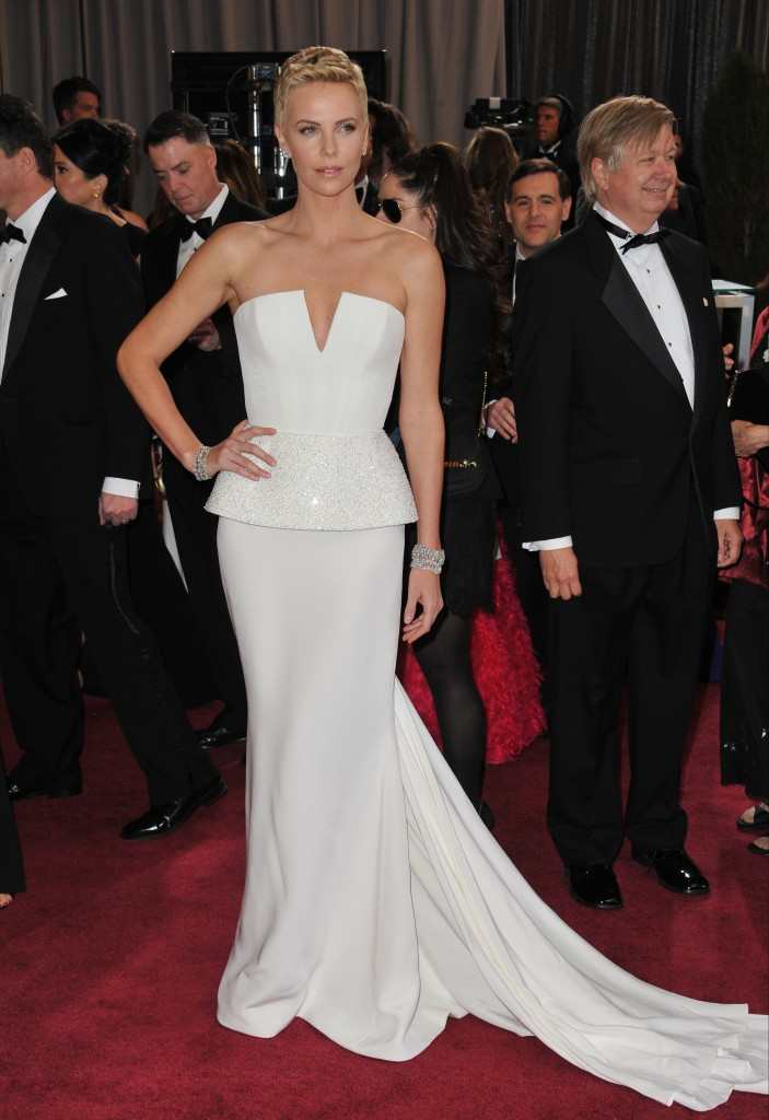 Charlize Theron 85th Oscars 2013