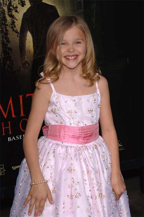 Chloe Mortez as a Child