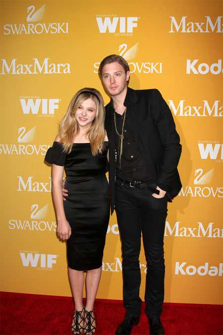 Chloe Grace Moretz and brother Chloe Grace Moretz Brothers