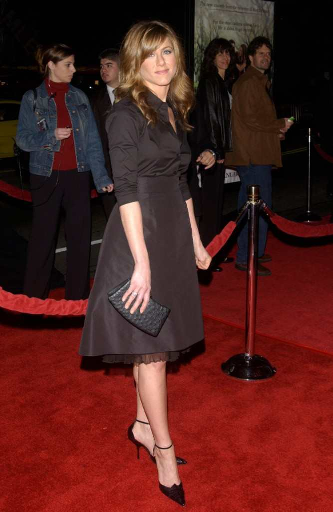 Jennifer Aniston Along Came Polly premiere 2004