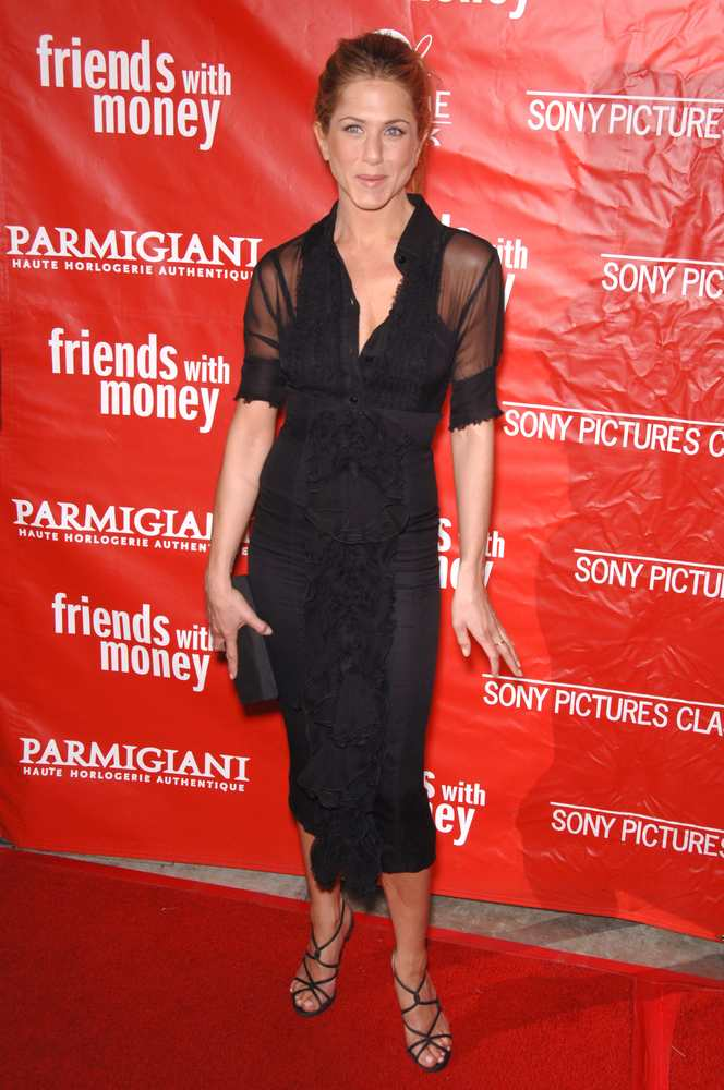 Jennifer Aniston Friends with money premiere 2006