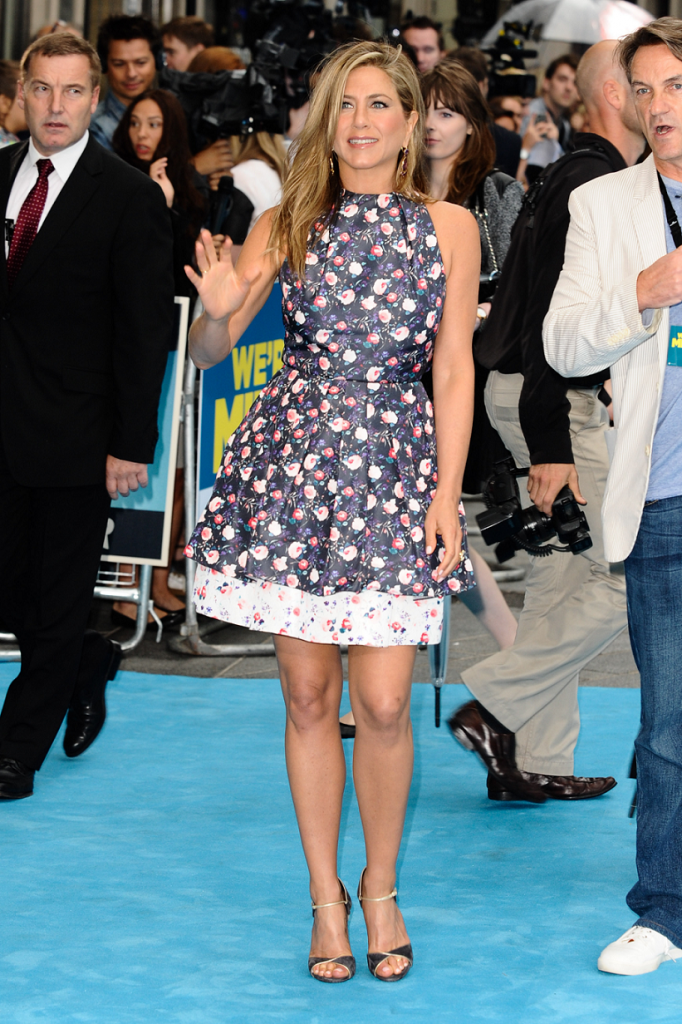 Jennifer Aniston We're the Millers premiere 2013