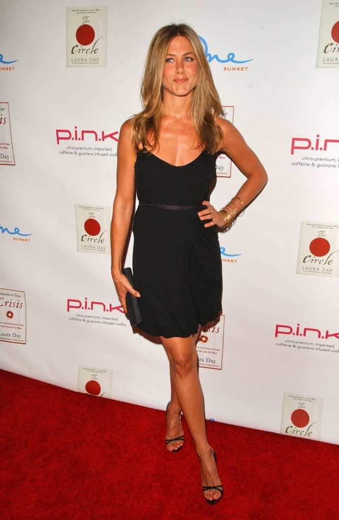 Jennifer Aniston at a book party in 2007