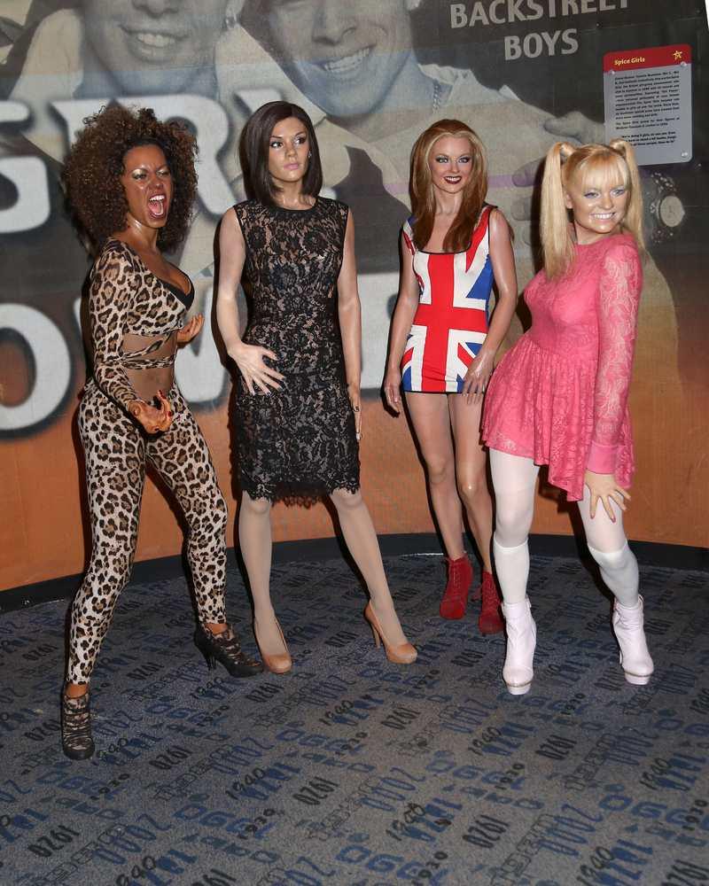 Spice Girls wax figures