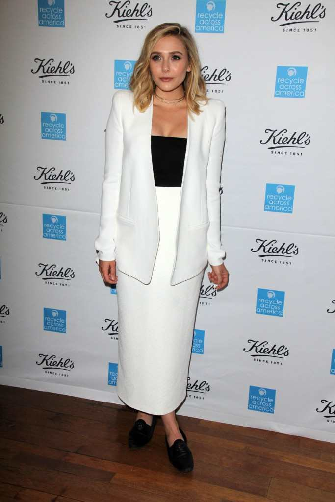 Elizabeth Olsen at the Kiehl's event