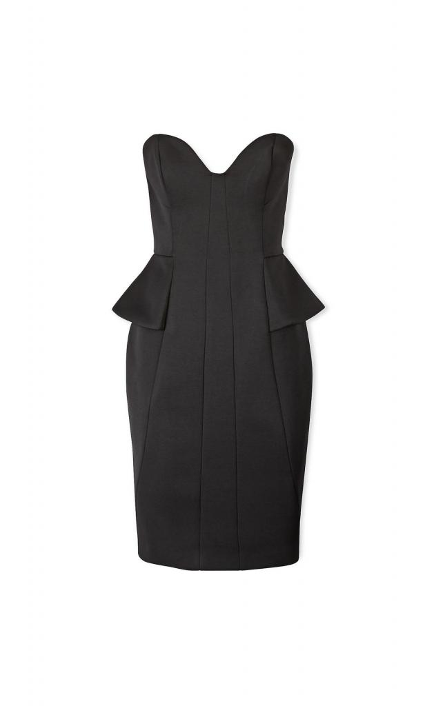 FINDERS KEEPERS Take A Shot Bandeau Dress - Black