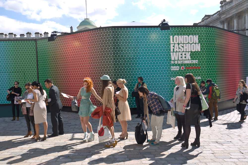 London Fashion Week was previously held  Somerset House since 2009