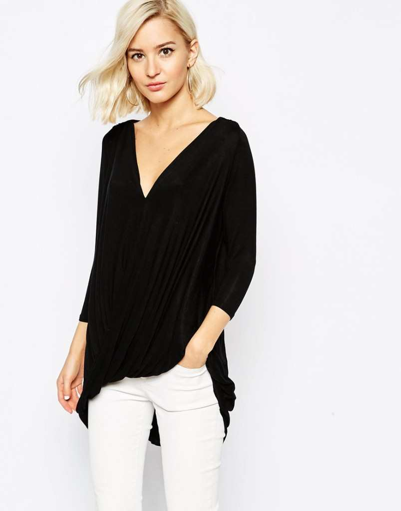 River Island Wrap Front Top