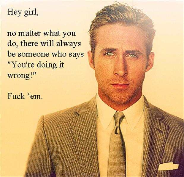 Ryan Gosling motivation meme 7