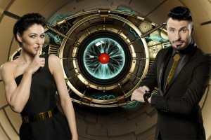 Big Brother Timebomb Emma Willis and Rylan Clark