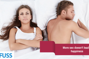 More sex doesn't lead to happiness