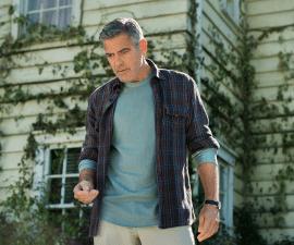Tomorrowland film still George Clooney