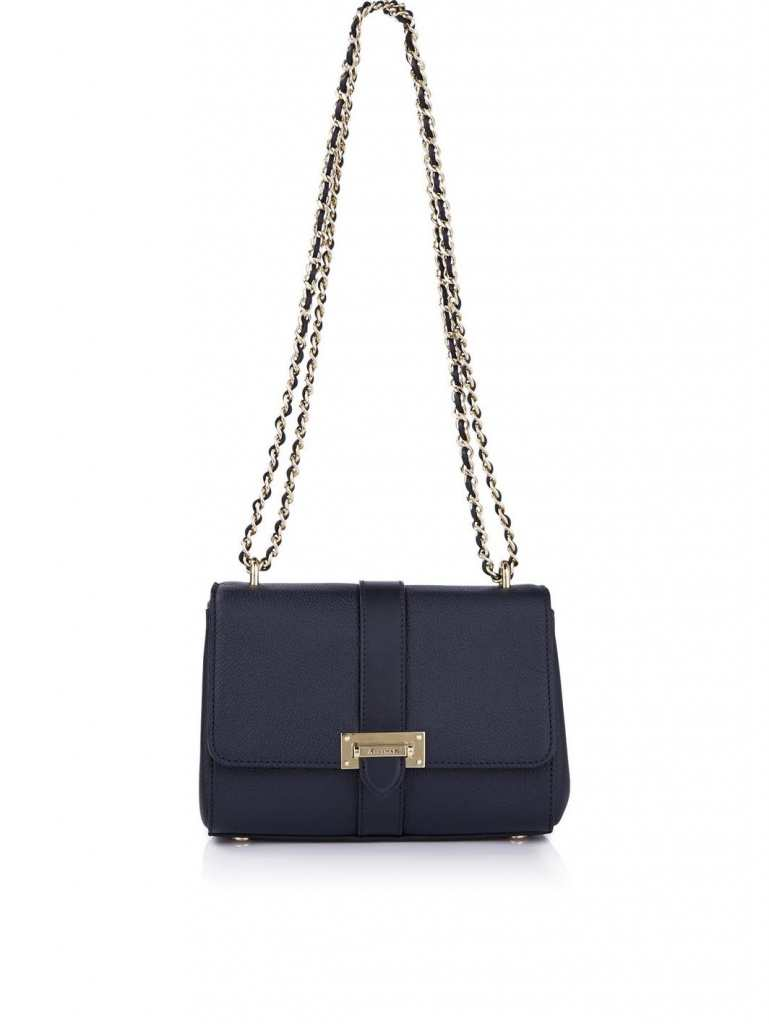 Very Exclusive Aspinal of London Lottie Letterbox Chain Shoulder Bag