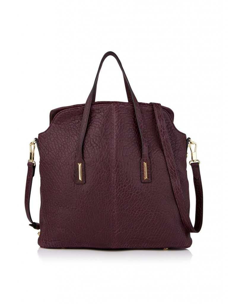 Very Exclusive Elizabeth and James Pyramid Satchel Bag