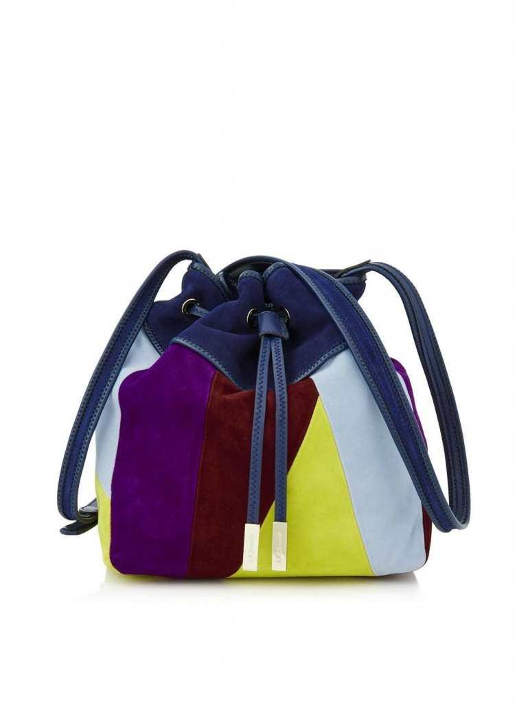 Very Exclusive LK Bennett Betsey Patchwork bucket bag