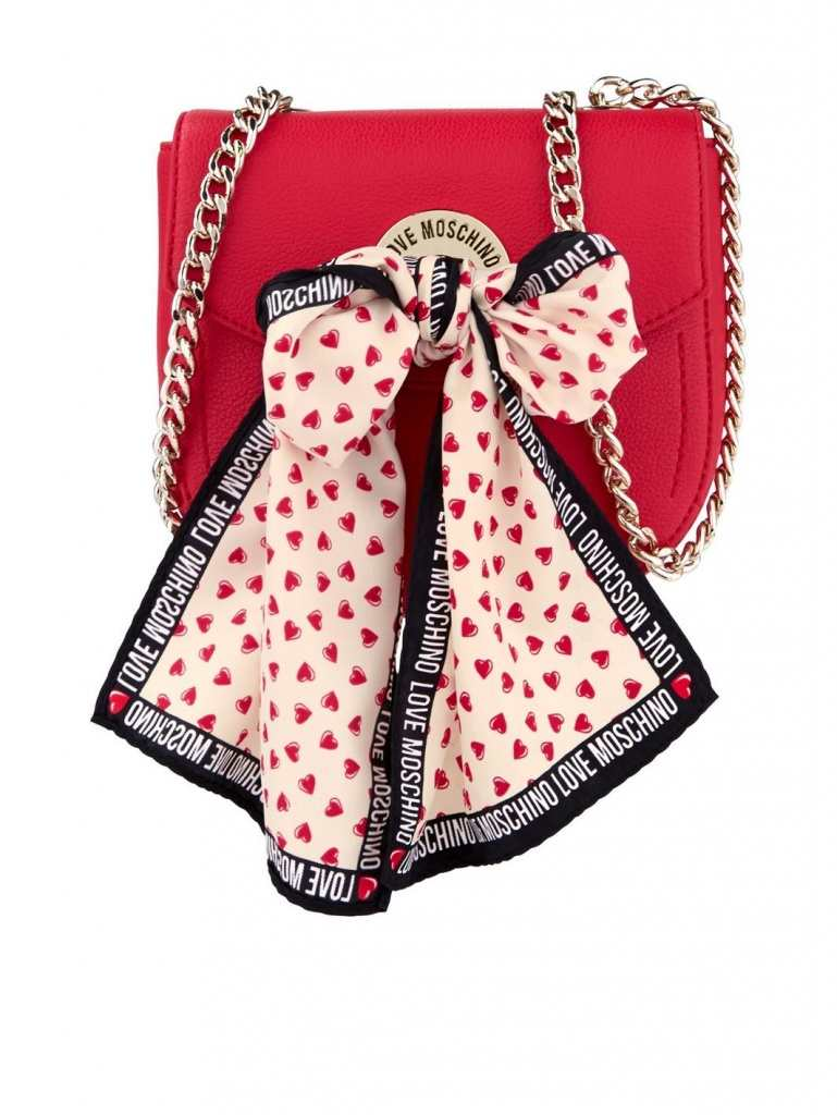 Very Exclusive Love Moschino Mini Scarf Shoulder bag