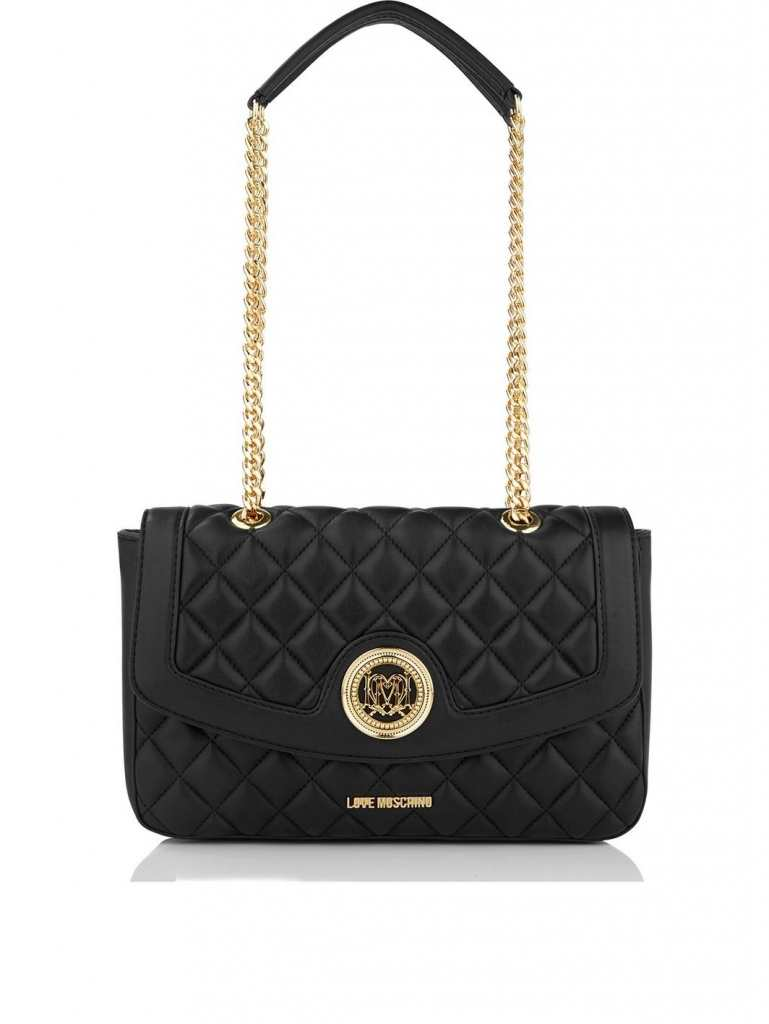 Very Exclusive Love Moschino Quilted Shoulder Bag