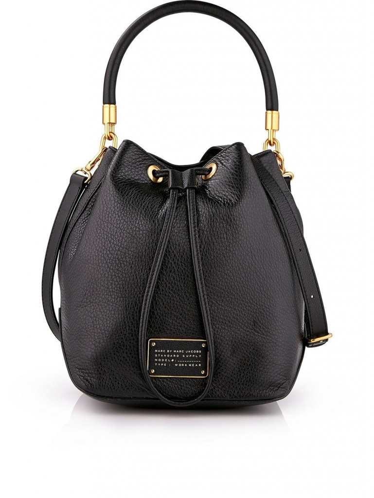 Very Exclusive Marc by Marc Jacobs New Too Hot to Handle Large Drawstring bag