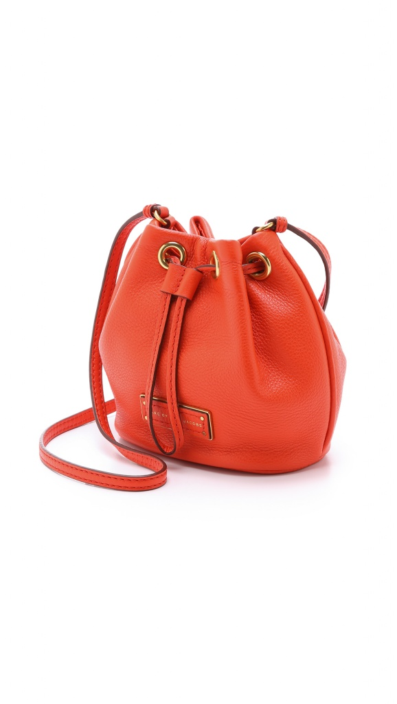 Very Exclusive Marc by Marc Jacobs Too Hot to Handle mini drawstring bag