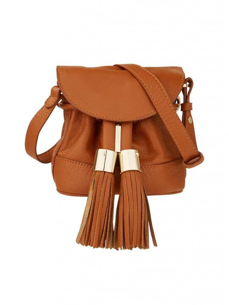 Very Exclusive See by Chloe Vicki Tassel Cross Body Bag