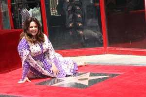 Melissa McCarthy Walk of Fame event
