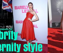 best celebrity maternity style moments