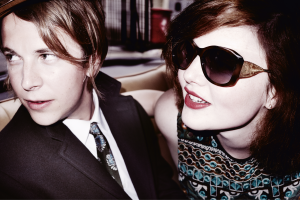 Tom Odell and Holliday Grainger in the Burberry campaign for AW15 TheFuss.co.uk
