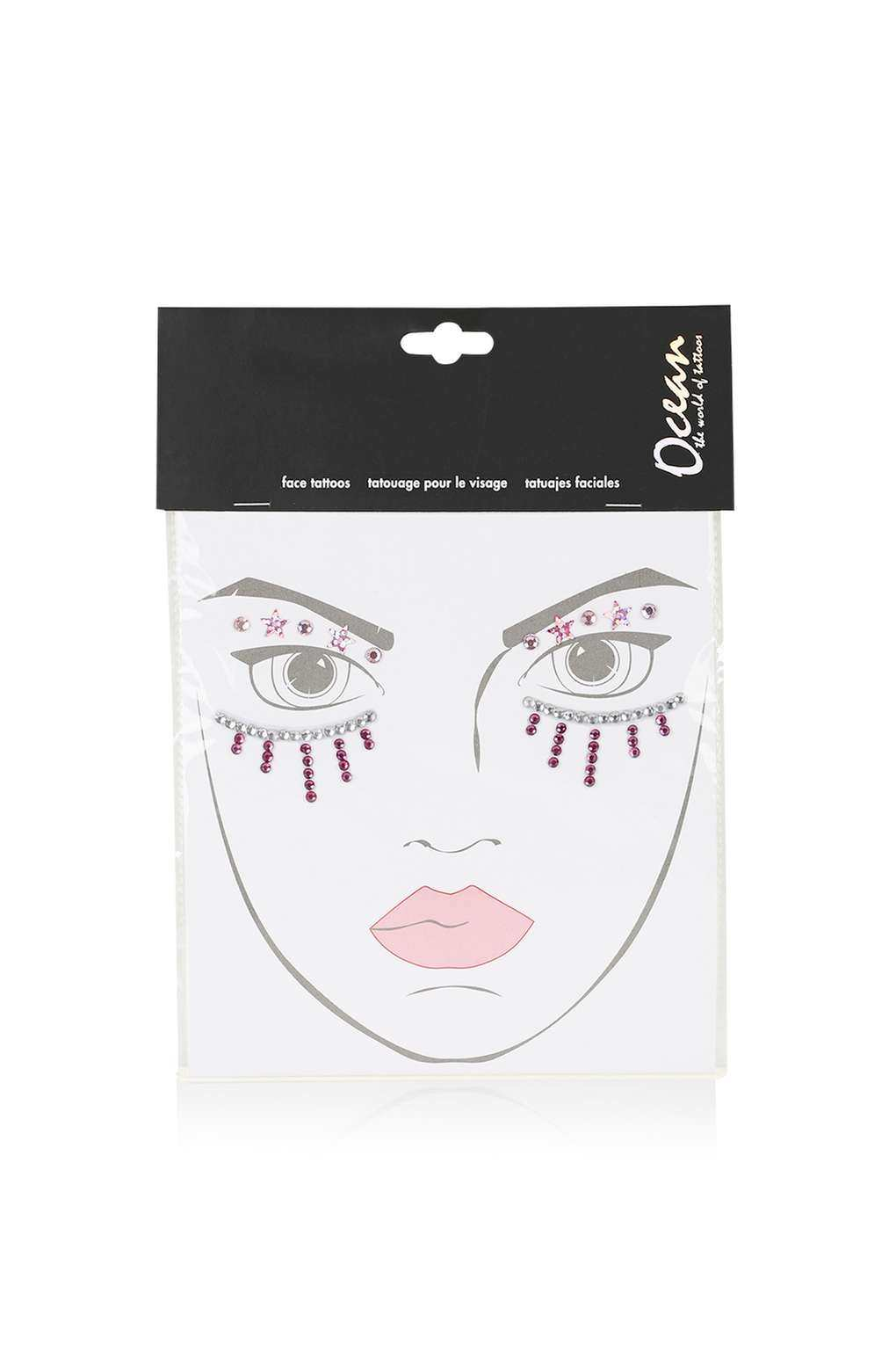 Topshop Sequin Face Piece