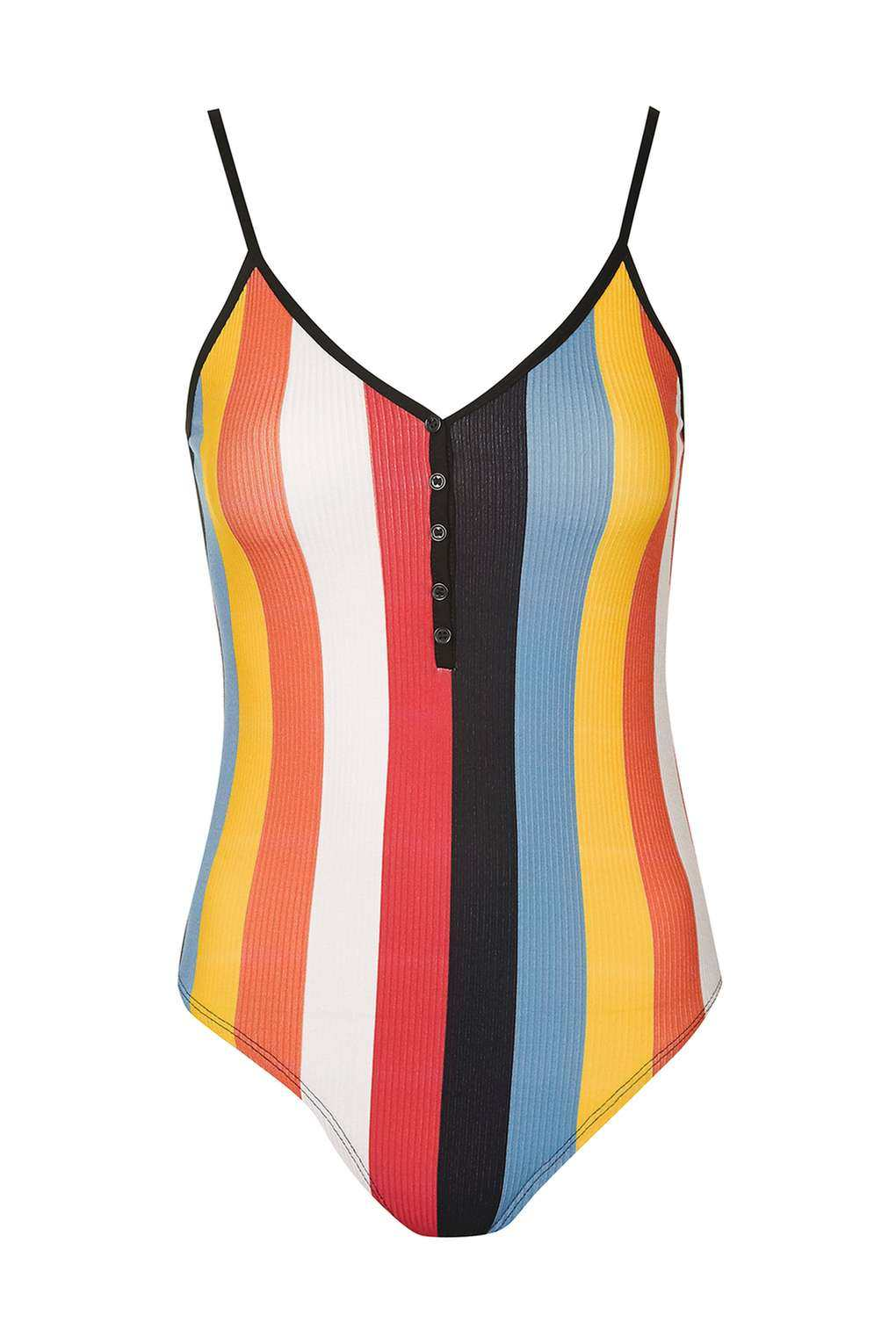 Topshop Vertical Stripe Body
