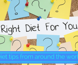 Diet tips from around the world TheFuss.co.uk