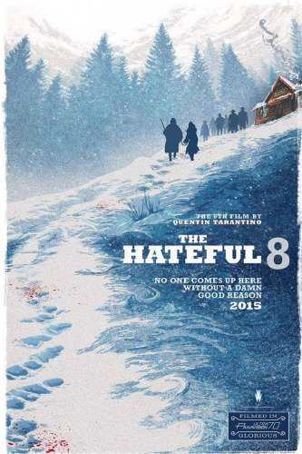 The Hateful Eight Comic Con poster TheFuss.co.uk
