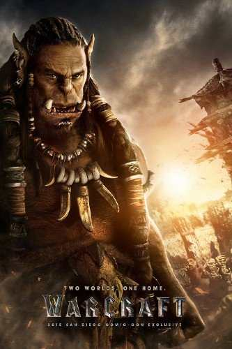 Warcraft Comic Con poster TheFuss.co.uk