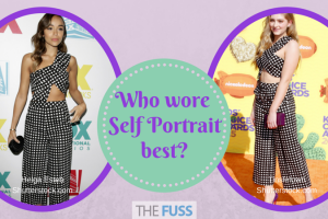 Who wore Self Portrait best? TheFuss.co.uk