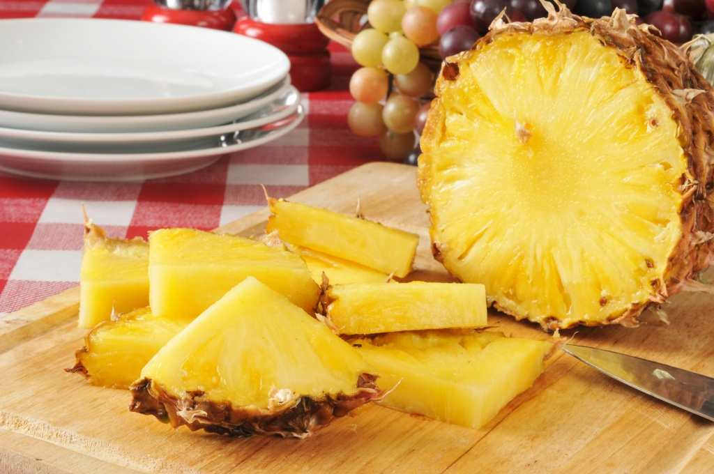 Pineapple enzyme acts as a natural stain remover TheFuss.co.uk