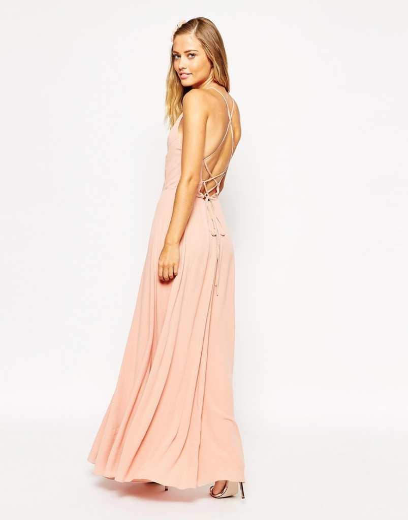 ASOS Maxi Dress with Tie Back