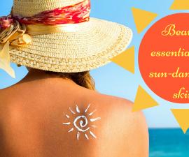 Beauty buys for sun-damaged skin TheFuss.co.uk