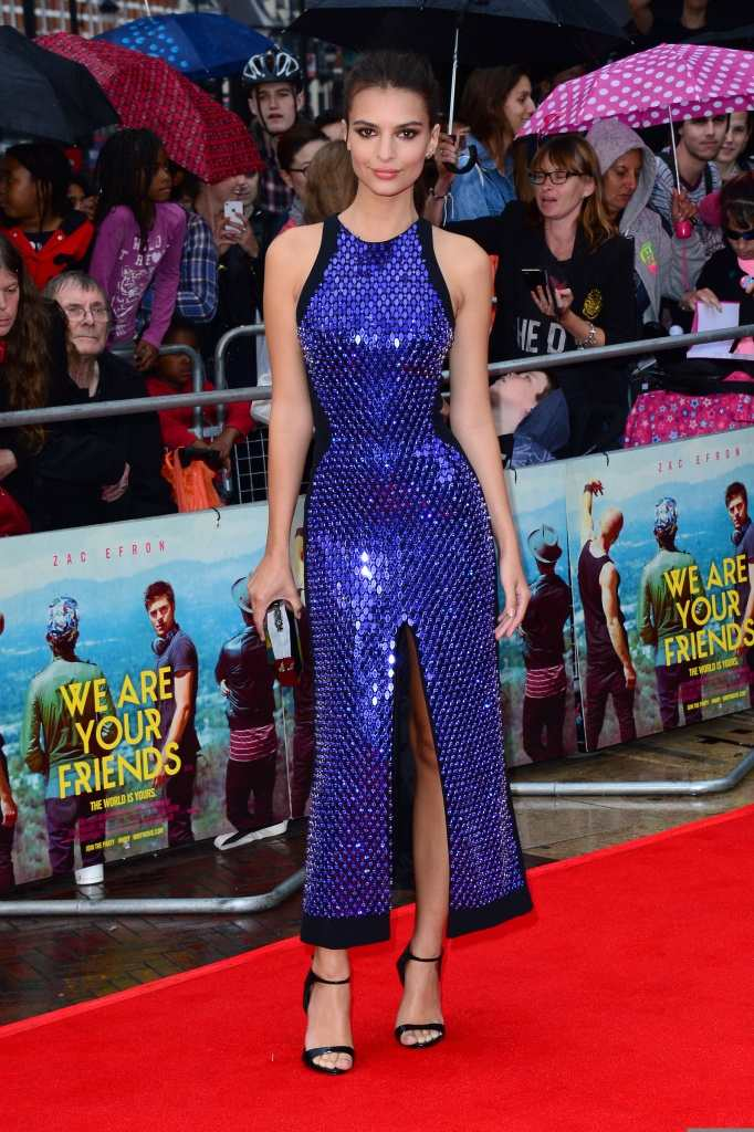 Emily Ratajkowski's stylish promo tour for We Are Your Friends TheFuss.co.uk