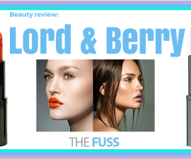 Lord & Berry beauty review TheFuss.co.uk