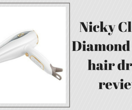 Nicky Clarke Diamond Shine hair dryer review TheFuss.co.uk
