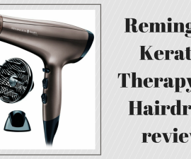 Remington Keratin Therapy Pro hair dryer review TheFuss.co.uk