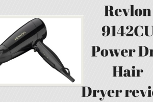 Revlon 9142CU Power Dry hair dryer review TheFuss.co.uk
