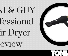 TONI & GUY Professional AC Diffuser Hair Dryer review TheFuss.co.uk
